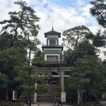 大変遅ればせながら、尾山神社へ初詣!