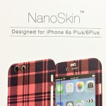 ちょいと変わり種なNanoSkinでiPhone6S Plusをイメチェンです。