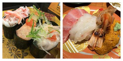 検索キーワード流入が多い、金沢の廻るお寿司屋さん、『すし玉』vs『もりもり寿し』。