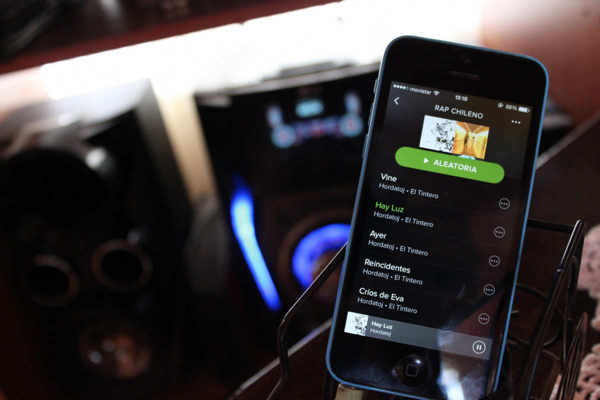 Spotify聴くならやっぱりiPhoneで聴きたいよね!ということで
