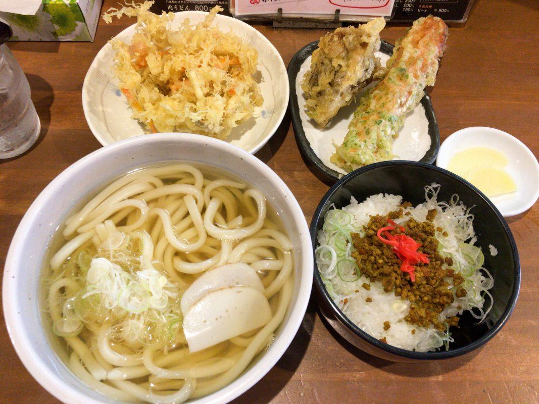 久々に中央市場の粉太製麺!