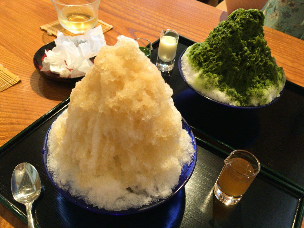 ひがしの『自由軒』で飯を喰い、にしの『諸江屋』で涼を取る、金沢名残惜しみの旅。