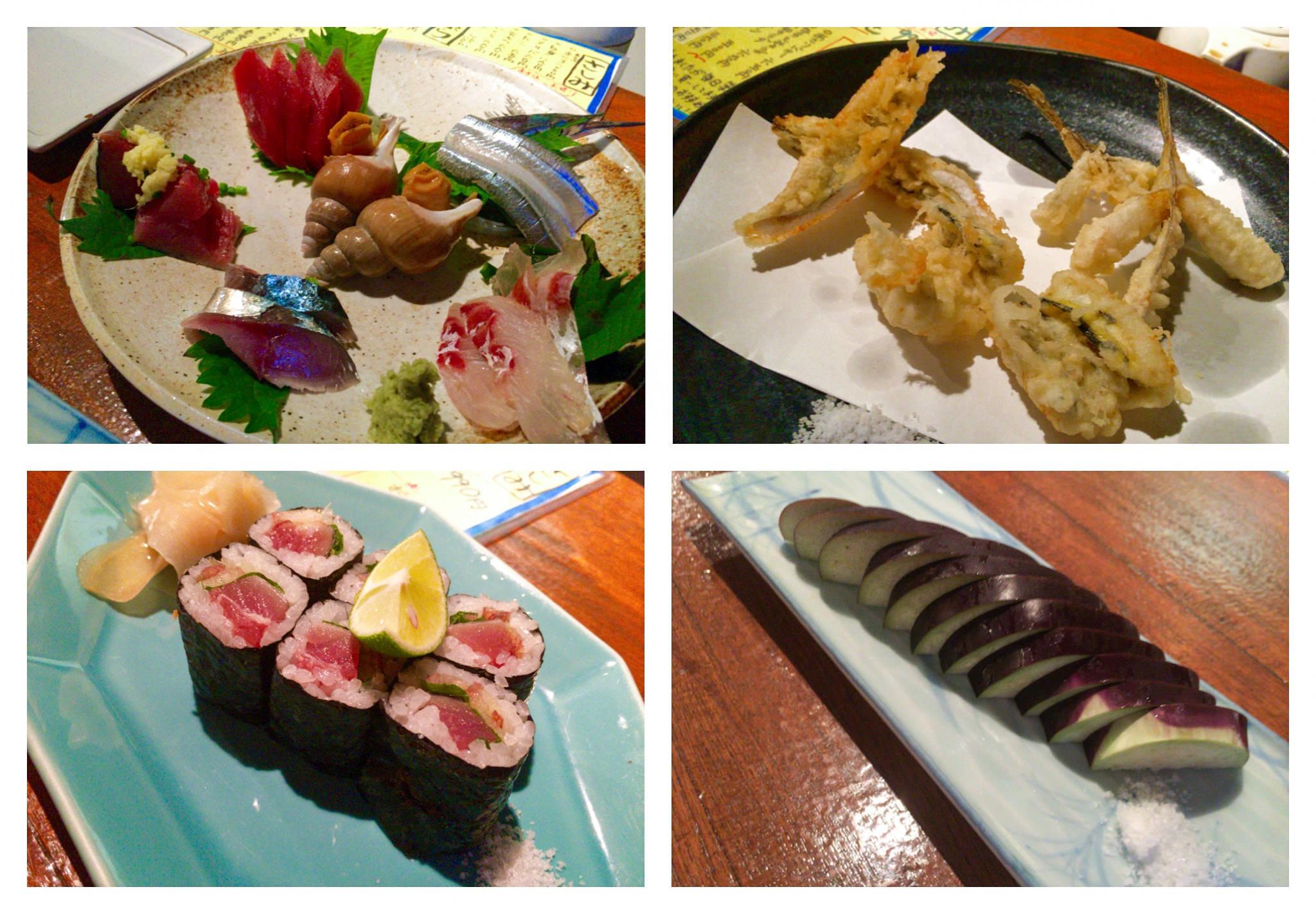 新橋でお刺身もお寿司も天ぷらも喰える和食なお店『ジロー』さんで啄みますっ!
