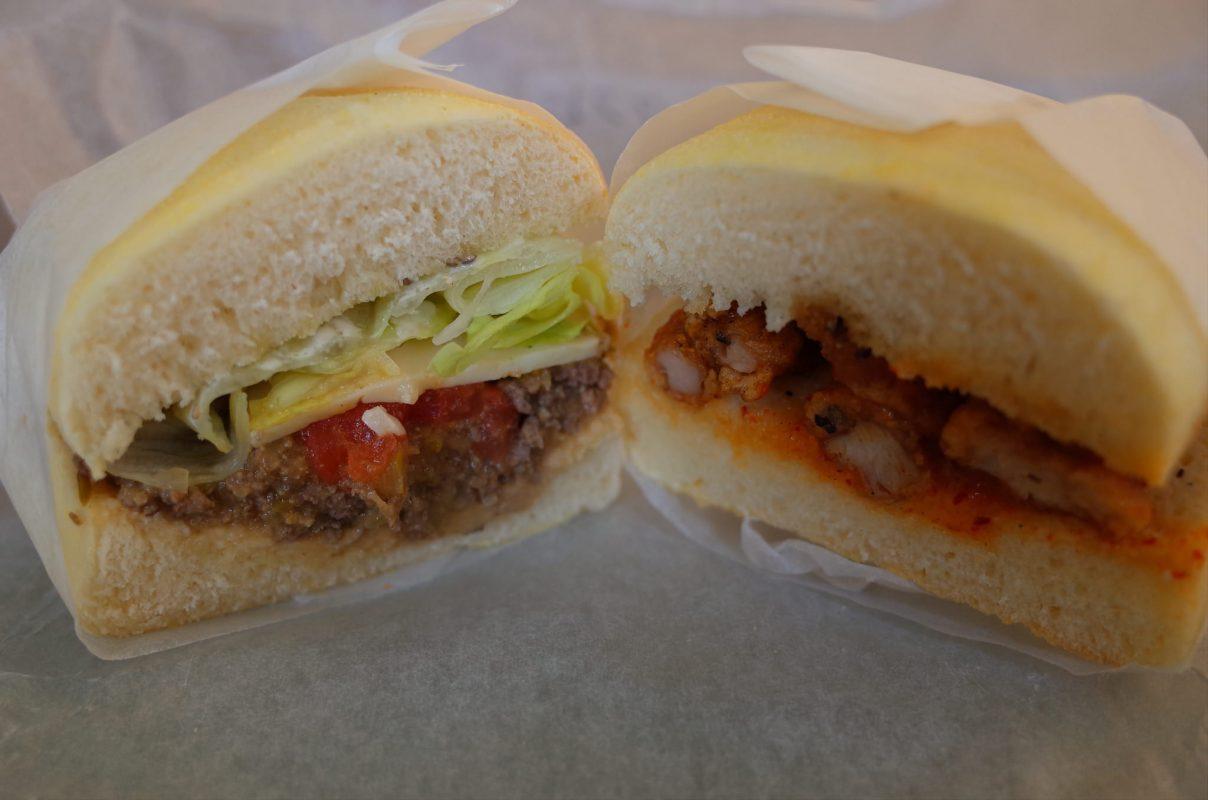 【神戸旅行】三宮から裏道ぶらりでみつけたアメリカンなサンドイッチ屋さん『サンドイッチの店3』。