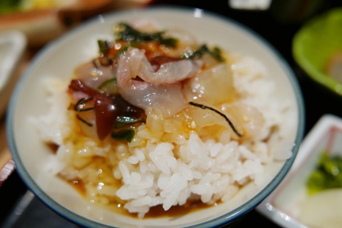 虎ノ門の割烹居酒屋『かどや』さんで宇和島の鯛めしを初体験です!