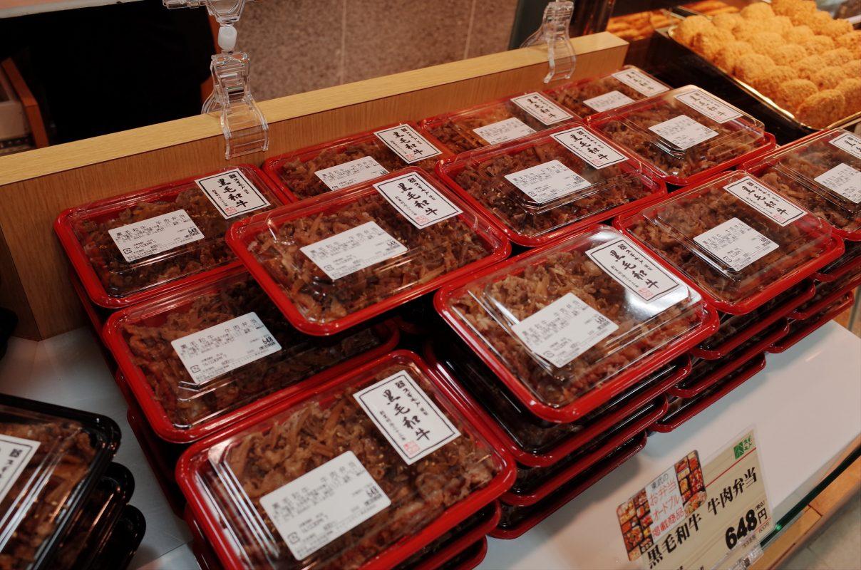 池袋東武百貨店のイートイン『スギモト』さんはテイクアウトの和牛弁当もオススメです!