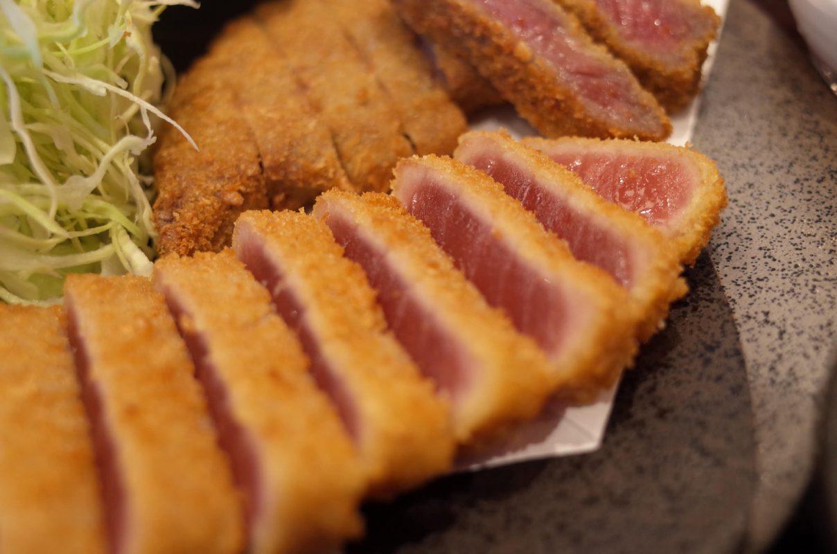 久々の京都勝牛で春メニューの鮪カツを堪能です!
