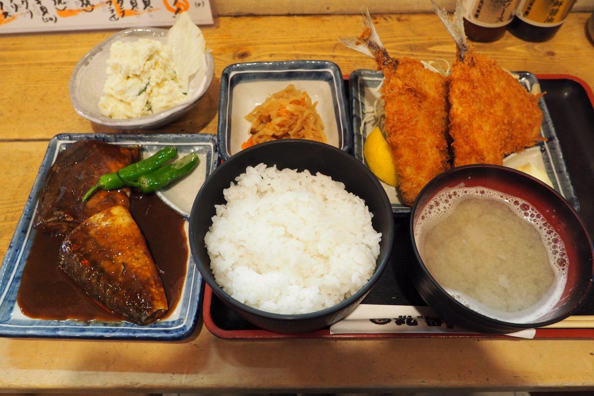 魚料理尽くしに浸りたいときには『丸富市場』!