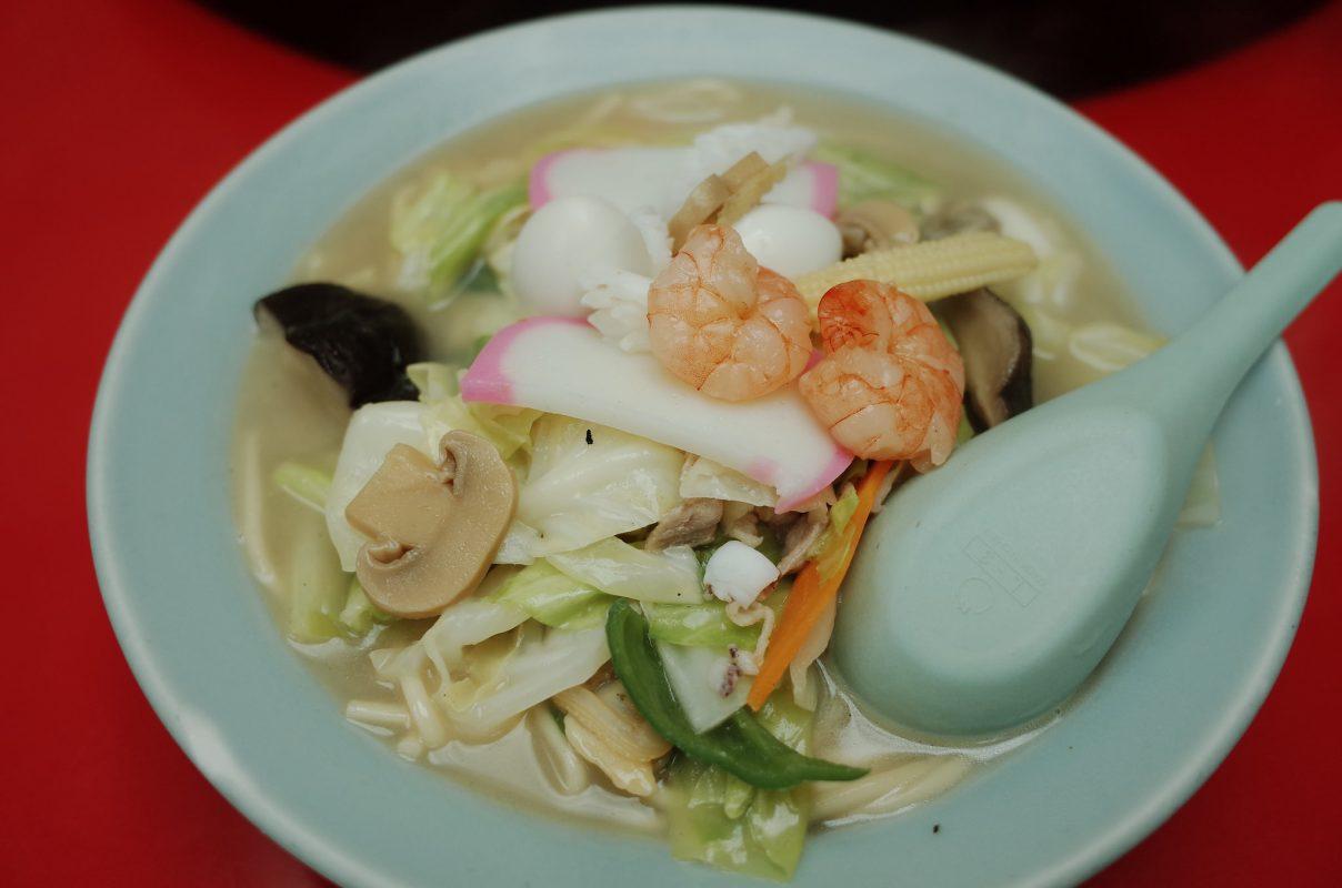 渋谷で井之頭五郎も食べた『長崎飯店』のちゃんぽん&皿うどん!