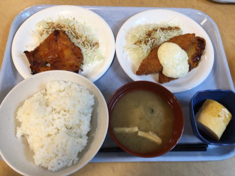 やっぱり今どきなカフェテリアより昔ながらの学食が好き!京大生協中央食堂で大人食い(笑)