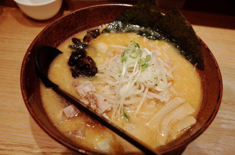 京都拉麺小路のすみれ跡地の白樺山荘で味噌ラーメン!