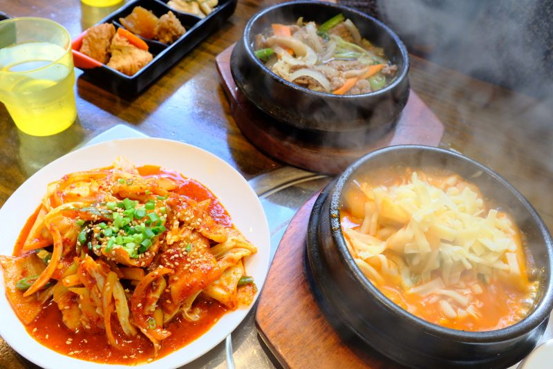 辛いの苦手でも韓国料理を食べたいときもあるモンで、韓国料理な『ハヌリ』さん。
