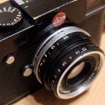 街歩きにはなかなか快適なVoigtlander Color Skopar 35mm f2.5 MC L39。