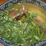 巷で話題の蘭州拉麺を初体験でございますってっ!