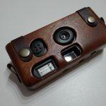 その昔、カメラは木製だったと言うことで、LIFEの写ルンです木製ケース!
