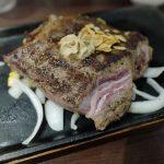 肉マイレージの昇格ポイントで贅沢にいきなりステーキ!