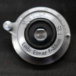 中古カメラ屋巡りでハイな勢いで、Leitz Elmar 35mm f3.5をお迎えなのです。