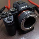 Sony α7ⅡとNikon FマウントのGレンズの間にCommlite CM-ENF-E1 PRO!?