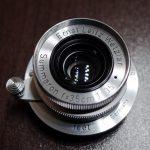 オールド広角レンズの王道、Leitz Summaron 35mm f3.5をお迎えです。