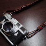 Acruの限定ストラップ『カシェ・レッタ for Leica』でLeica M2をドレスアップなのですっ!