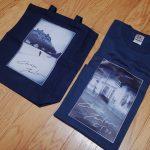 チョートク翁御年72歳の御生誕記念に我楽多屋さんのCT72トートバッグ&Tシャツなのです。