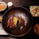 ALBORE GINZAの『松永牧場』で偽『東京いい道、しぶい道』の一休み。